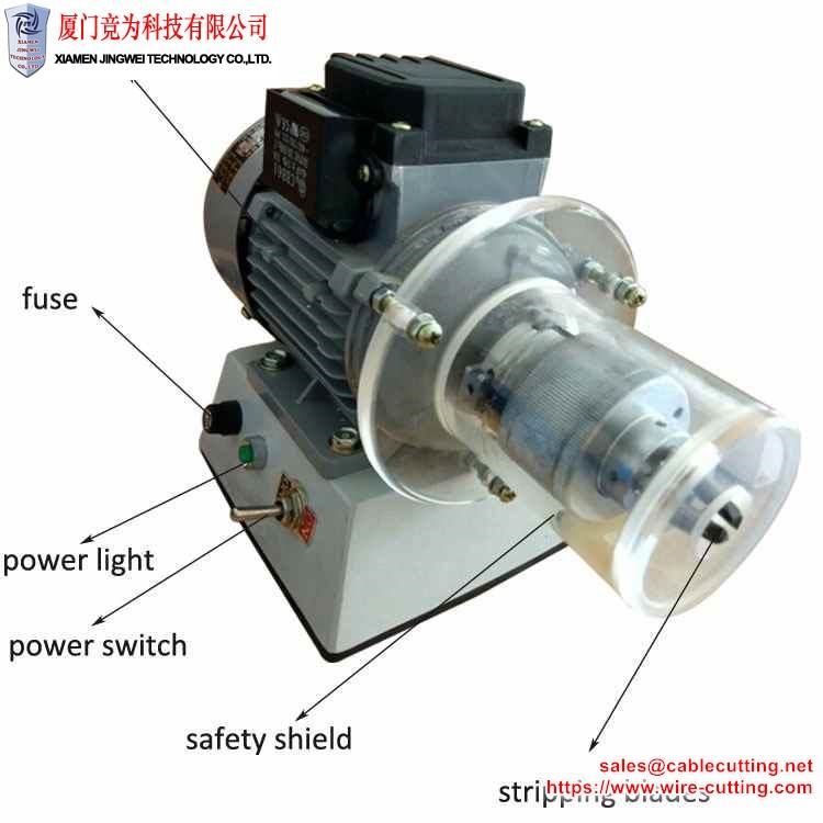 Enamel copper wire stripping machine WPM-6P
