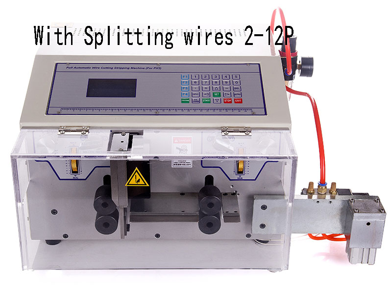 Flat Cable Stripping Cutting and Splitting machine (WPM-09E+S)