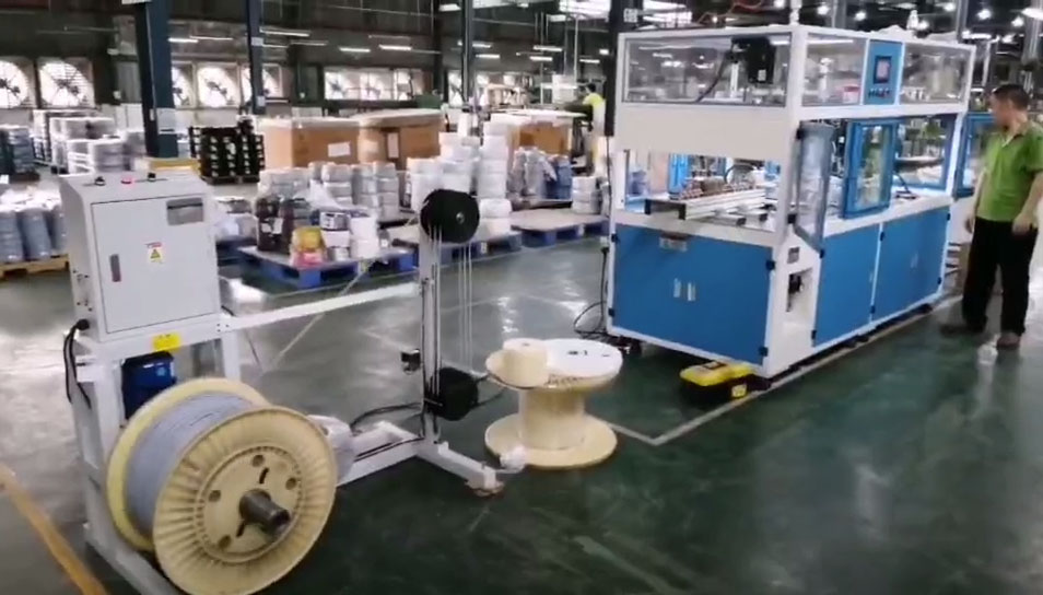 Heavy wire cutting Coiling binding machine WPM-HCRO