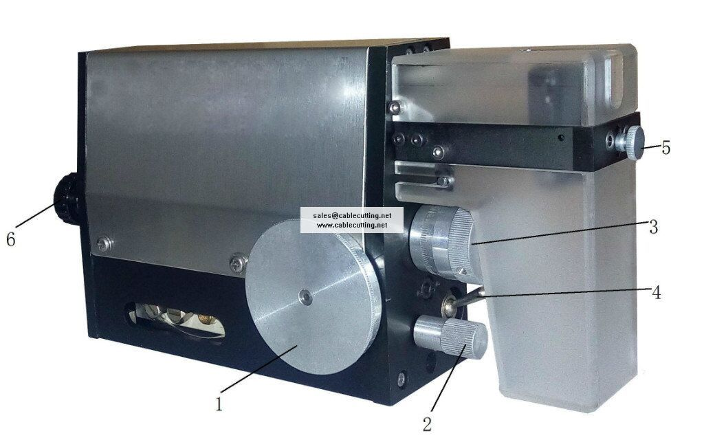 Induction pneumatic wire stripping machine WPM-2018