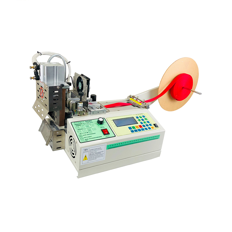 hot and cold cutting knives rotary knife ribbon tape cutting machine for angles WPM-919X